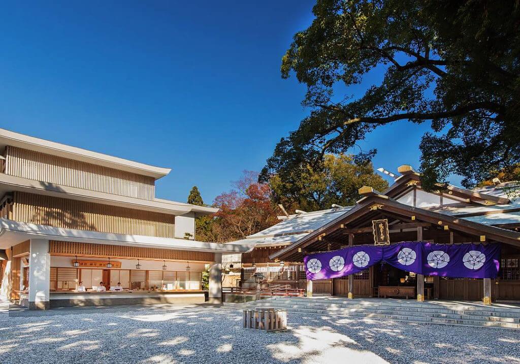猿田彦神社の外観