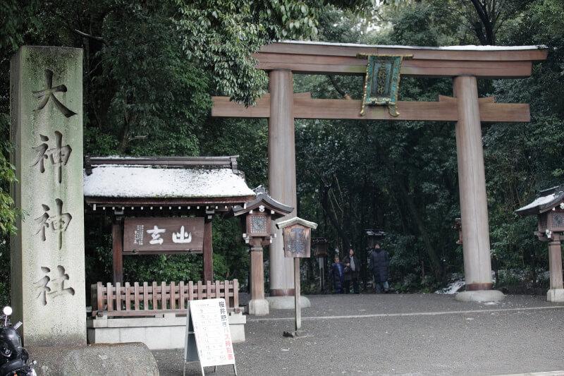 大神神社_三輪山