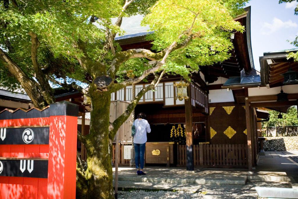 車折神社_拝殿