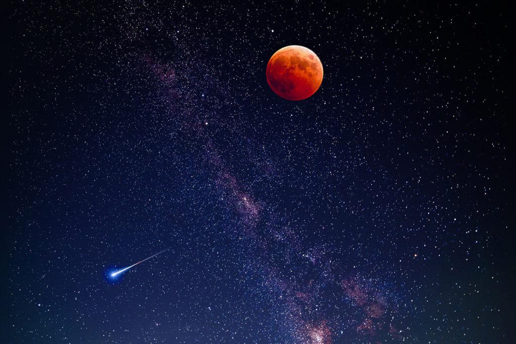 月と太陽_開運